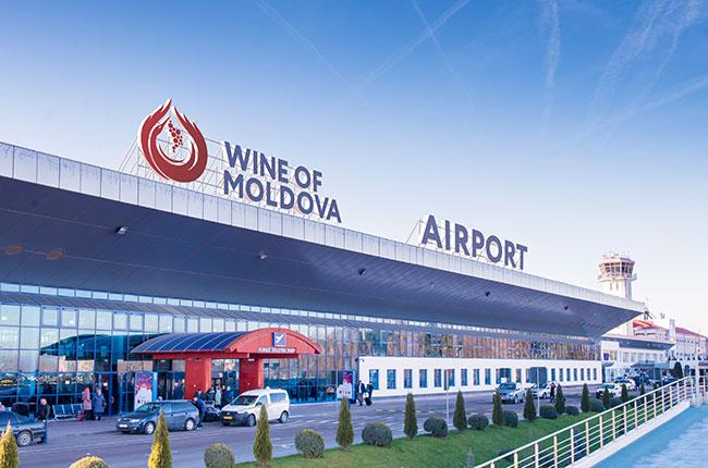 Moldova-wine-airport